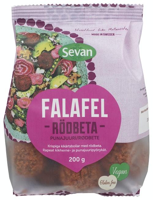 Sevan Fersk Falafel Med Rødbet, 200 g