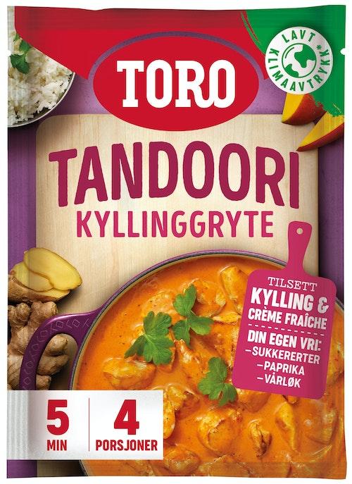 Toro Tandoori Kyllinggryte 80 g