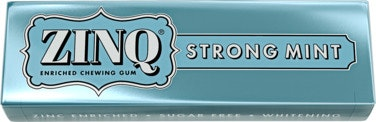 Zinq Strong Mint Tyggegummi med Sink Sukkerfri, 14 g