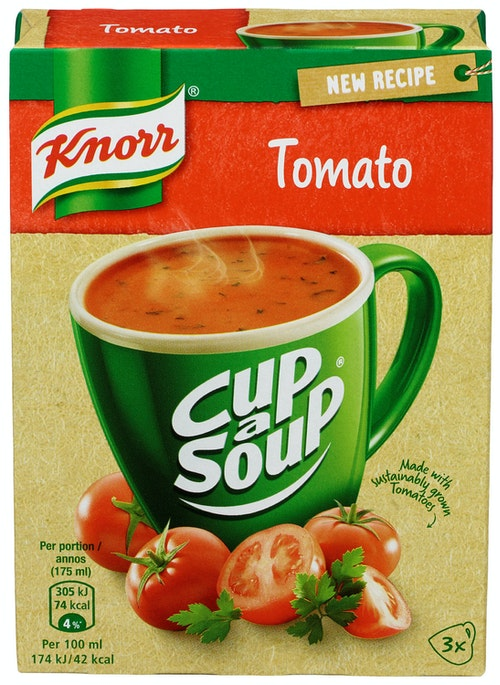 Knorr Tomatsuppe Cup a Soup, 3 stk