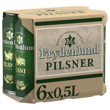 Frydenlund Frydenlund Pilsner Boks, 6x0,5l, 3 l
