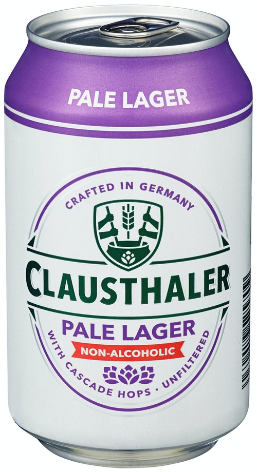 Clausthaler Clausthaler Pale Lager 0,33 l
