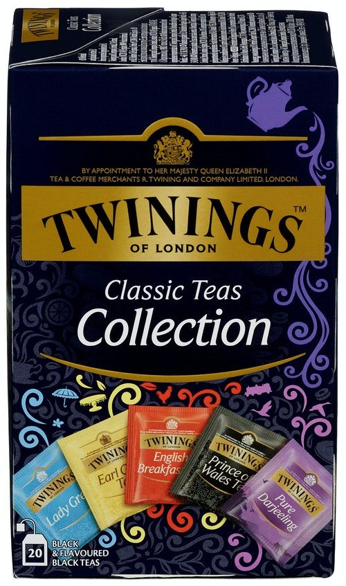 Twinings Classic Teas Collection 20 stk