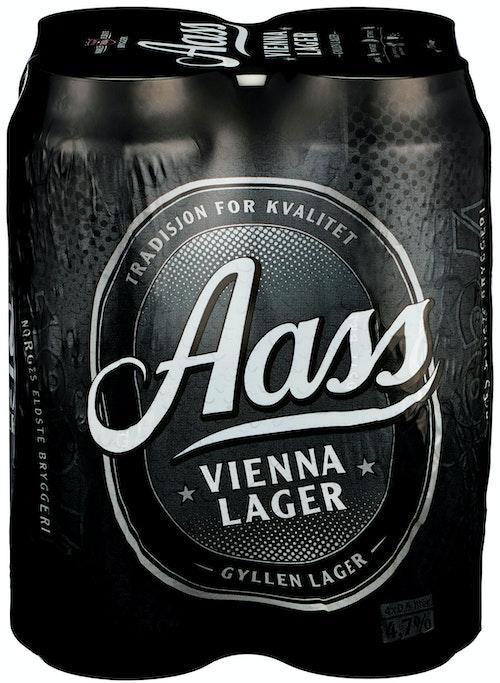 Aass Bryggeri Aass Vienna Lager 4 x 0,5 liter, 2 l