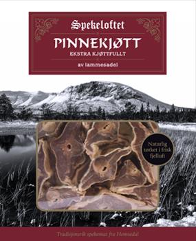 Spekeloftet Kjøttfullt Pinnekjøtt Lammesadel, ca. 1,5 kg