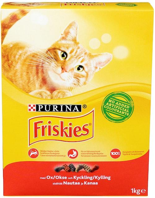 Friskies Okse, Kylling & Lever 1 kg