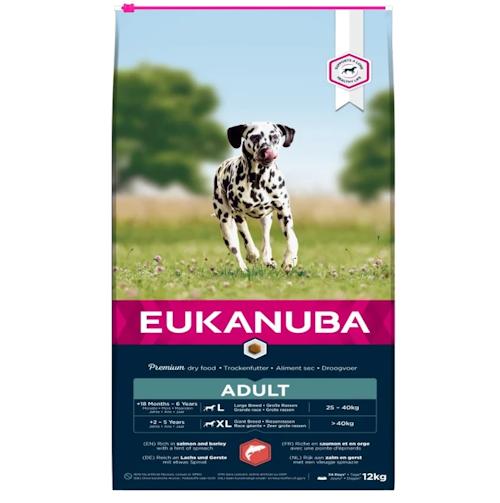 Eukanuba Adult All Breed Salmon, 12 kg