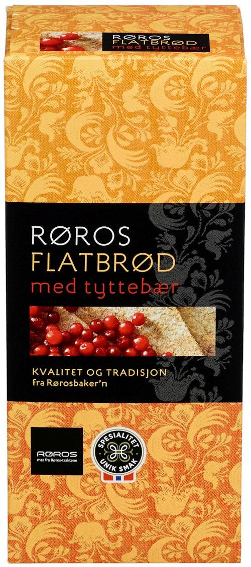 Røros-Flatbrød med Tyttebær 190 g