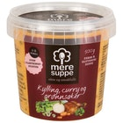 Suppe med Kylling, Curry & Grønnsaker