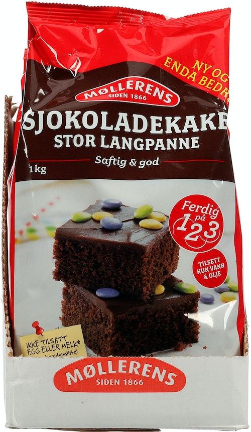 Møllerens Sjokoladekake 1 kg