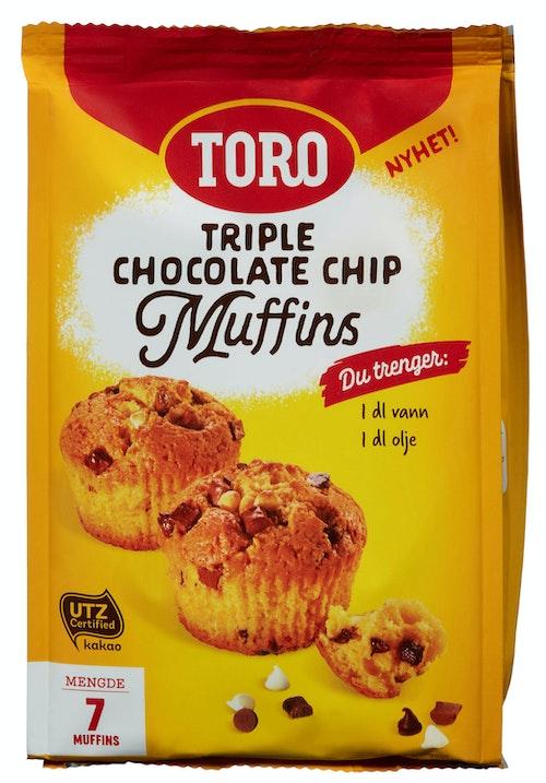 Toro Muffins Triple Chocolate Chip 293 g
