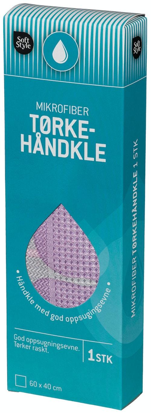 Soft Style Mikrofiber Tørkehåndkle 1 stk