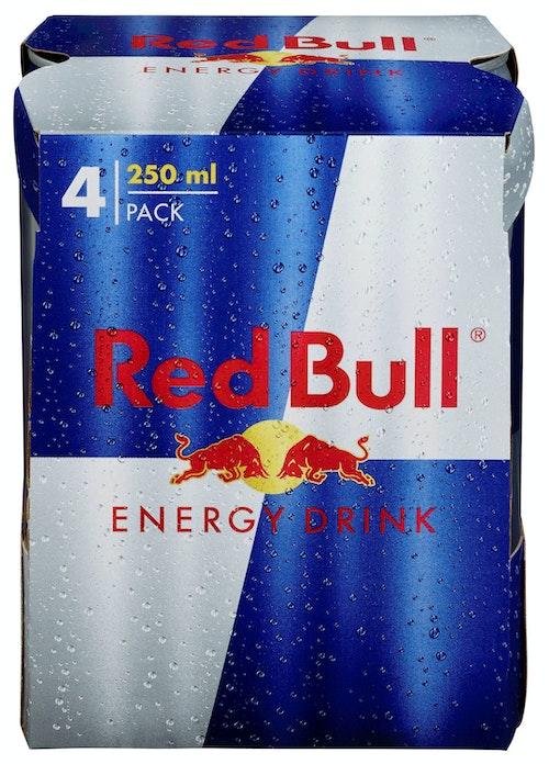 Red Bull Red Bull 4x0,25ltr, 1 l