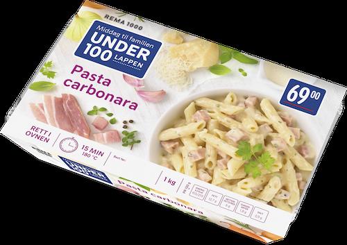REMA 1000 Pasta Carbonara 1 kg