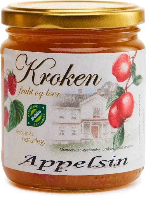 Kroken Frukt & Bær Håndlaget Økologisk Appelsinmarmelade 300 g