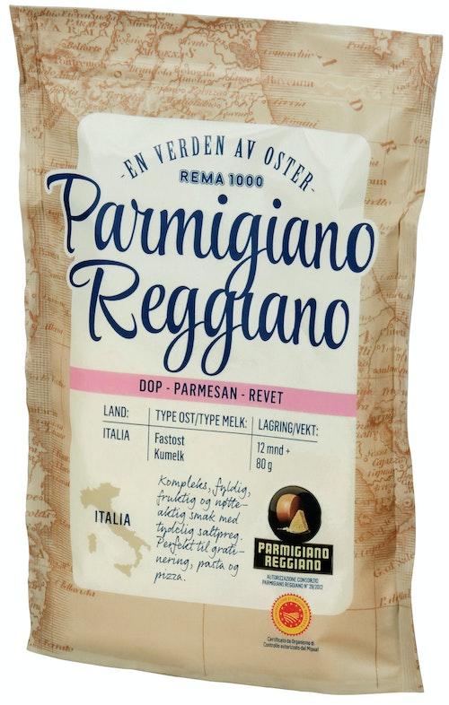 REMA 1000 Parmigiano Reggiano Revet 80 g