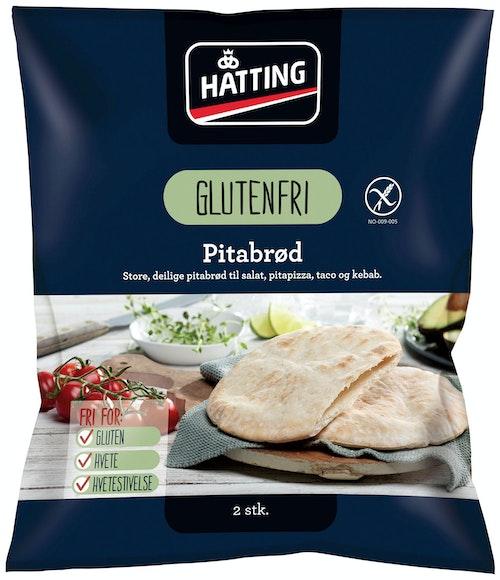 Hatting Glutenfrie Pitabrød 2 stk, 230 g