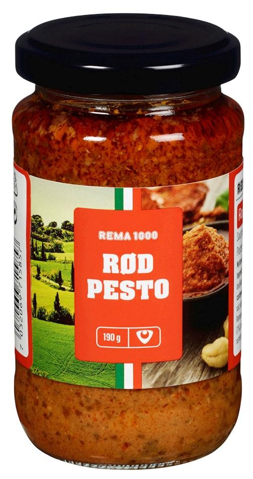 REMA 1000 Rød Pesto 190 g