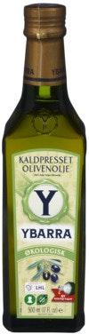 Ybarra Extra Virgin Olivenolje Økologisk, 0,5 l
