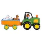 Traktor med dyr