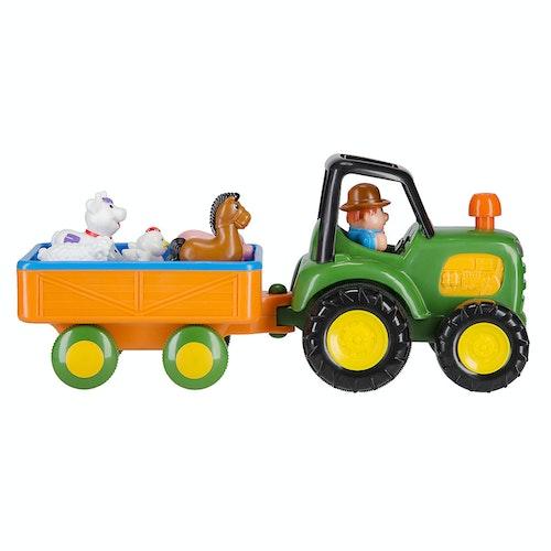 Traktor med dyr 1 stk