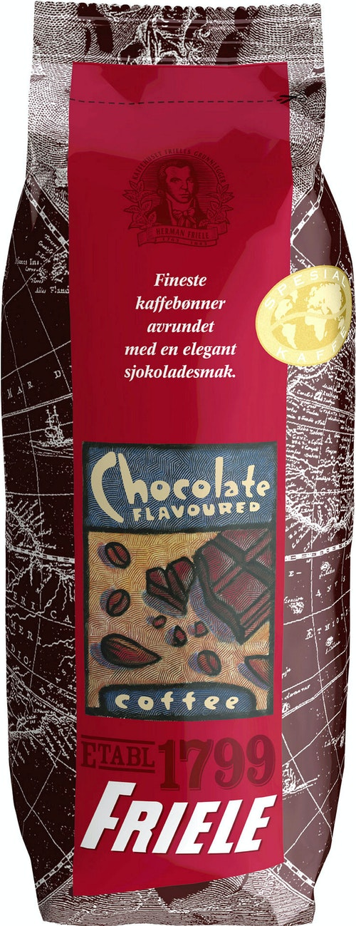 Friele Sjokoladekaffe Filtermalt, 125 g
