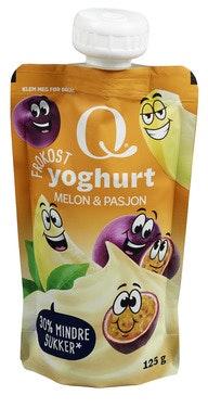 Q-meieriene Q Frokostyoghurt Melon & Pasjonsfrukt 125 g
