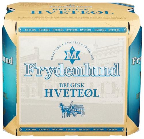 Frydenlund Frydenlund Hveteøl 6 x 0,5l, 3 l