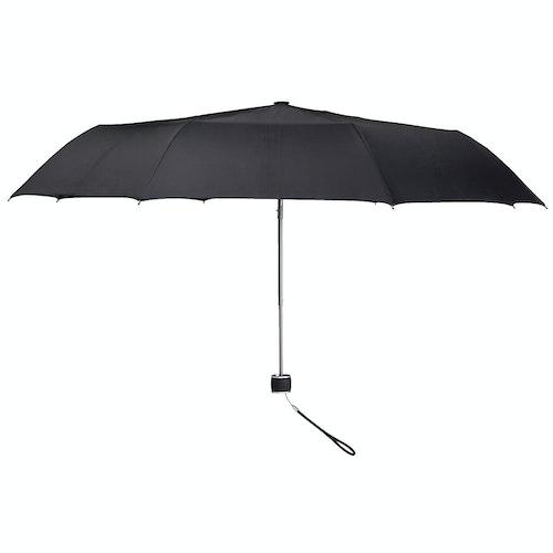 Clas Ohlson Paraply kompakt 103cm svart 1 stk