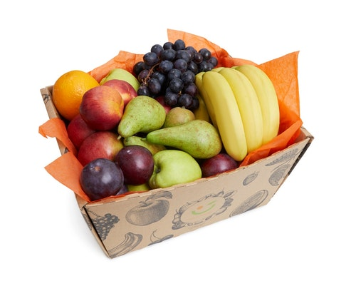 Fruktkurv Miks av frukt, 4 kg
