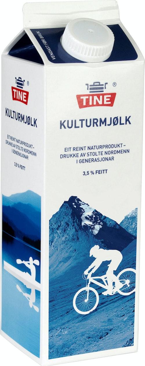 Tine Kulturmjølk 1 l