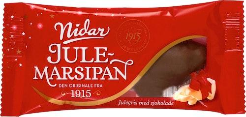 Nidar Liten Marsipangris med Sjokolade 65 g