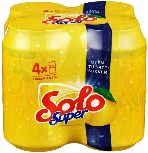 Solo Solo Super Boks 4 x 0,33l, 1,32 l