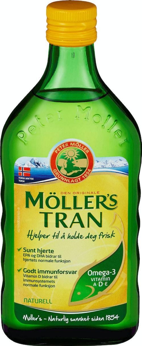 Möller's Möller's Tran Naturell, 500g, 500 ml