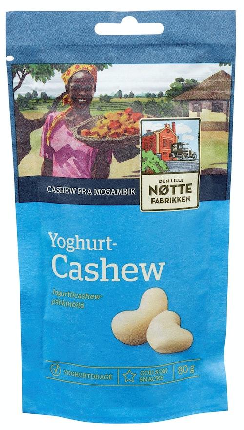 Den Lille Nøttefabrikken Yoghurtcashew 80 g