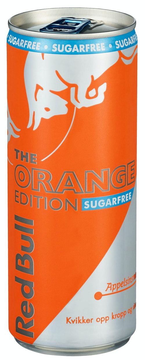 Red Bull Red Bull Orange Edition Sugarfree, 250 ml