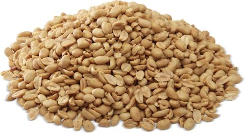 Nøtteliten Peanøtter Ristet, Usaltet, 1 kg