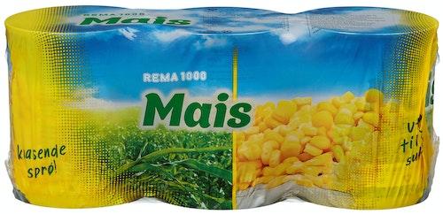 REMA 1000 Maiskorn 3x198g, 594 g