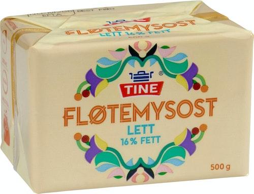 Tine Fløtemysost  Lettere, 500 g