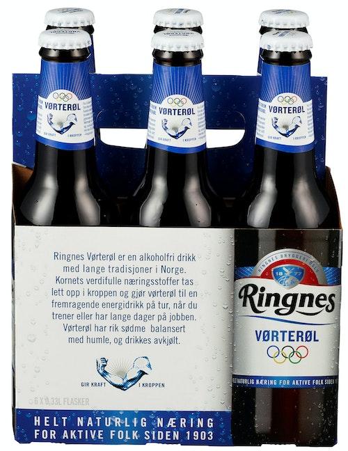 Ringnes Ringnes Vørterøl Flaske 6 x 0,33l, 1,98 l