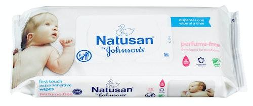 Natusan Wipes Uten Parfyme 56 stk