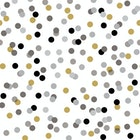 Servietter Dream Dots Black
