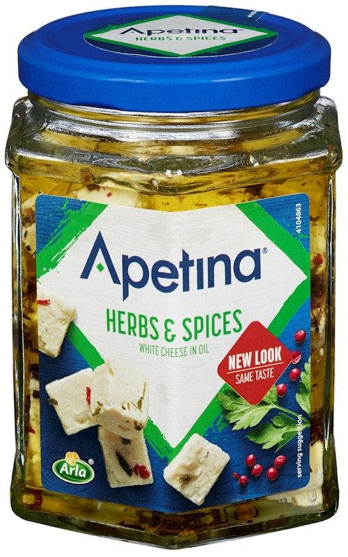 Arla Apetina Marinert Herbs & Spices, 265 g