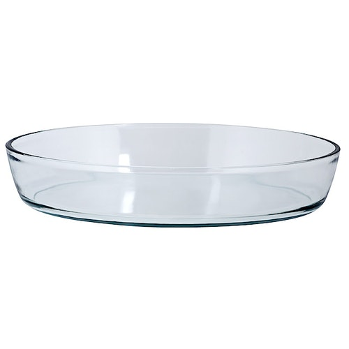 Ildfastform oval 35 x 24 x 7 cm, 1 stk