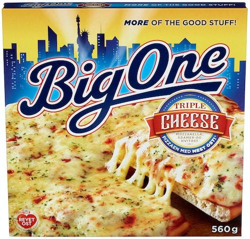 Big One Big One American Triple Cheese Pizza 580 g