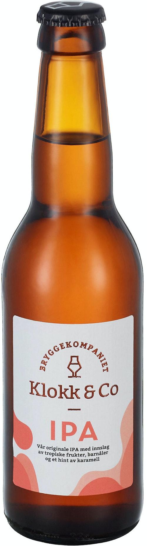 Klokk & Co IPA 4,5%, 0,33 l