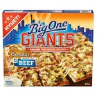 Big One Giants Cheddar & Beef Pizza