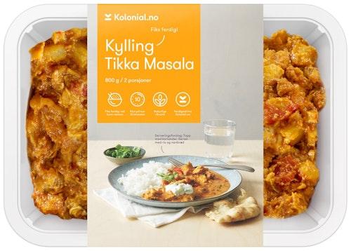 Gastro Kitchen Kylling Tikka Masala Fiks ferdig, 2 Porsjoner, 800 g