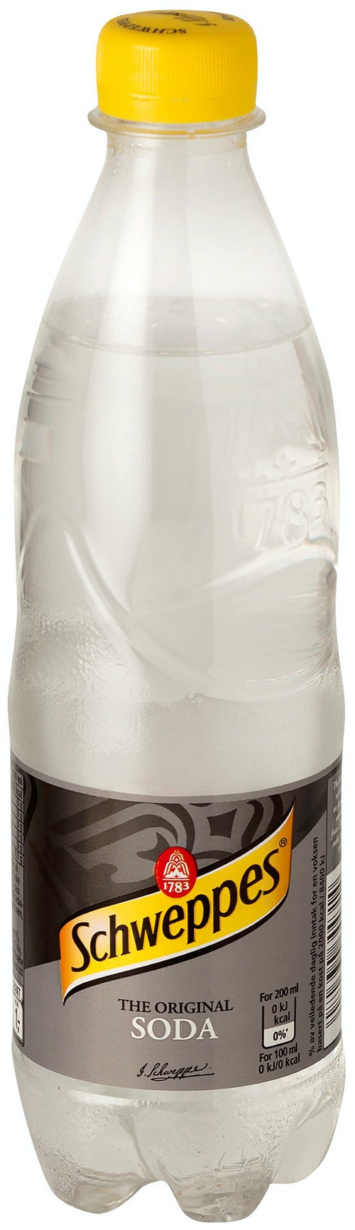 Schweppes Soda Water 0,5 l