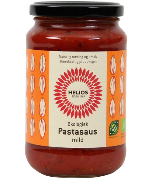 Helios Pastasaus Mild Økologisk, 380 g